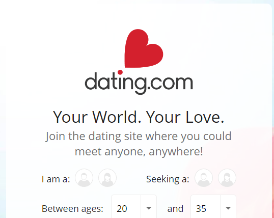 Dating.com select bar